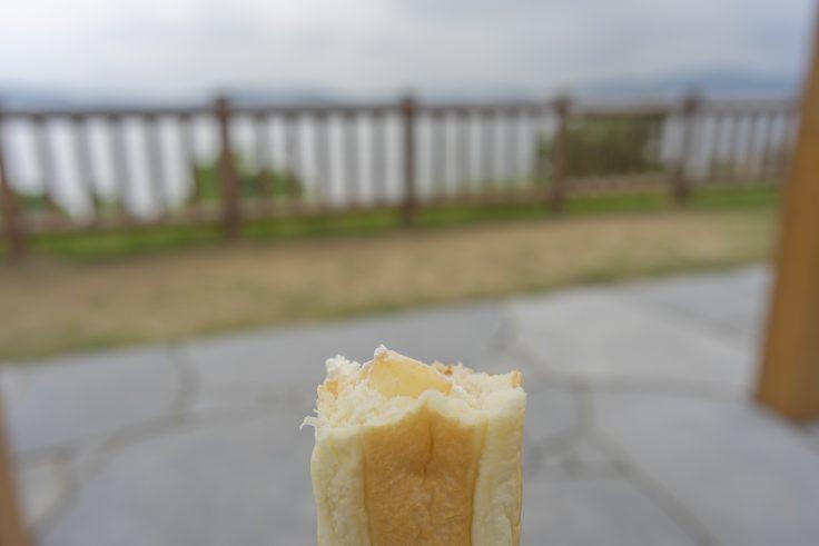 木村さんの桃コッペパン