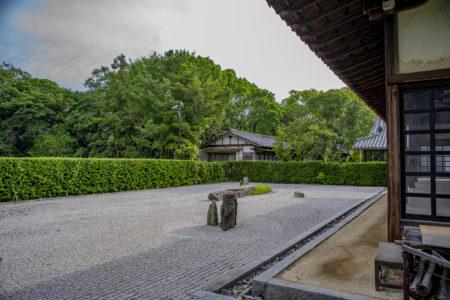 志度寺枯山水庭園「無染庭」3