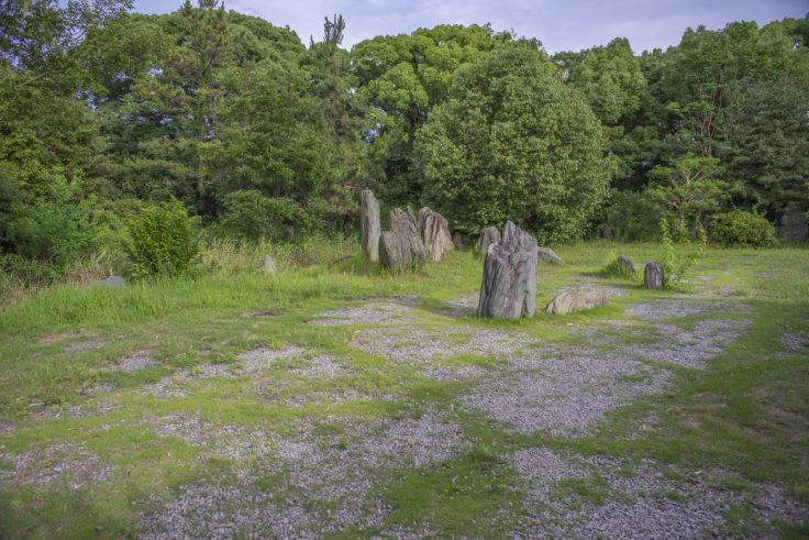 志度寺の石組み