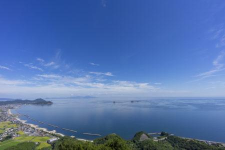 大阪峠展望台から見た瀬戸内海6