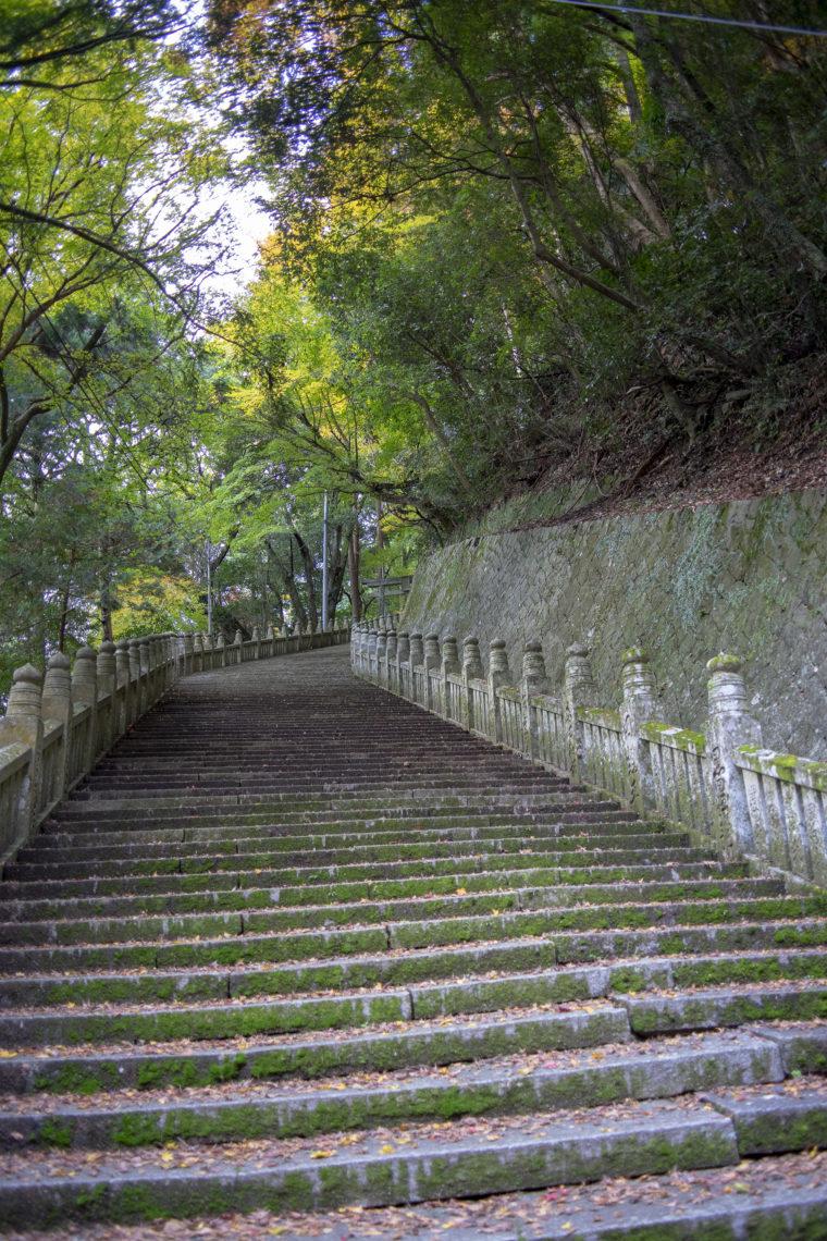 箸蔵寺の階段