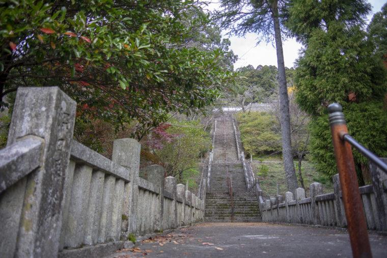 箸蔵寺の階段2