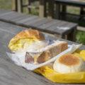 大山牧場夢農工房うしおじさんでパンのモーニング