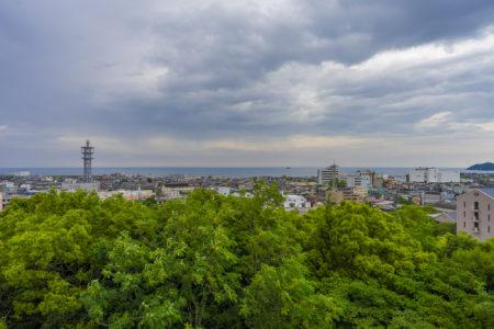 前山公園展望台から見た瀬戸内海