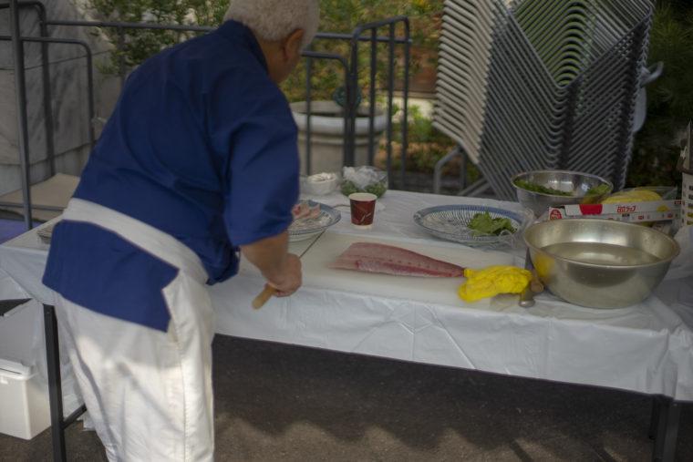 ひけた鰤の調理