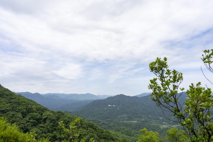 虎丸山から見た景色
