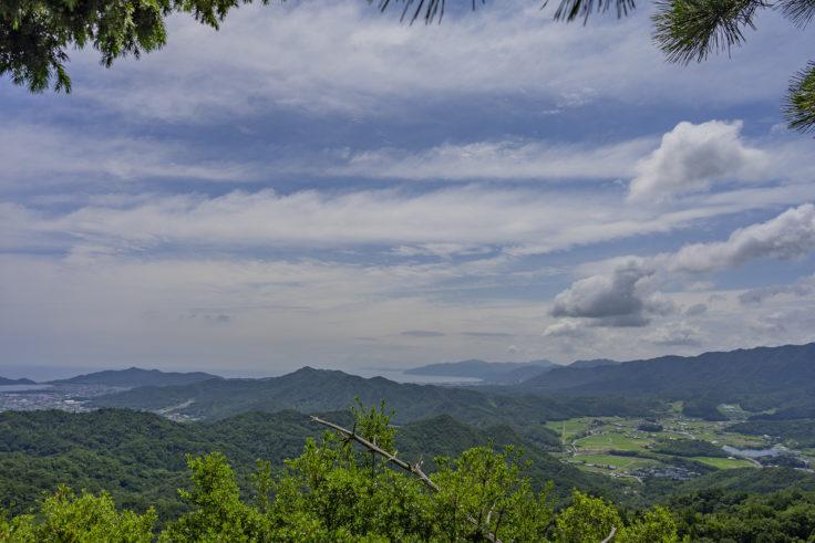 虎丸山展望台からの瀬戸内海