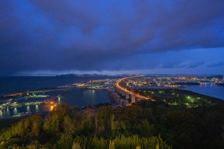 サン・アンジエリーナからの夜景
