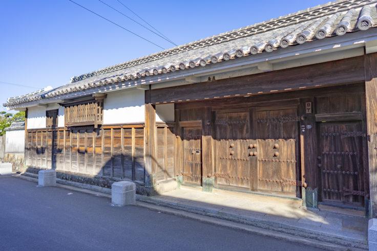 引田町の日下家