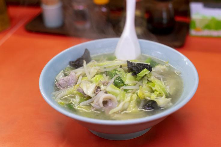 木蘭の野菜ラーメン