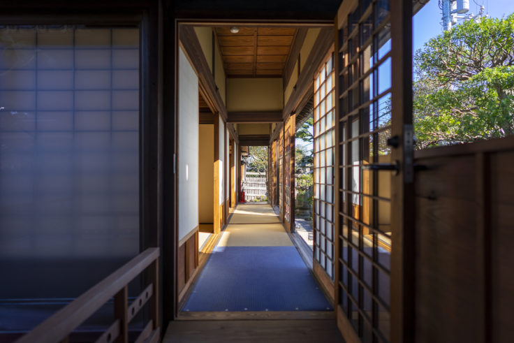 讃州井筒屋敷母屋廊下