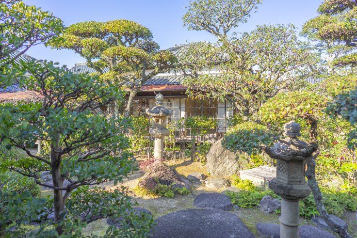 讃州井筒屋敷母屋の庭園2