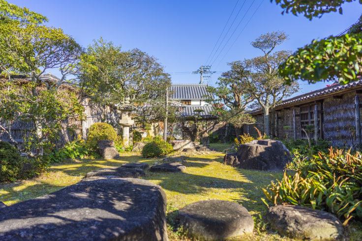 讃州井筒屋敷母屋の庭園3