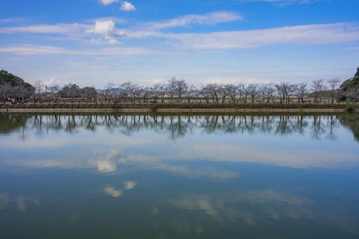亀鶴公園のリフレクション