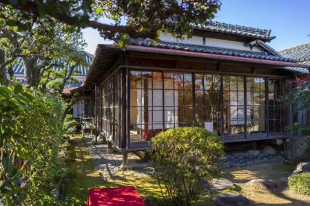 讃州井筒屋敷母屋の庭園4