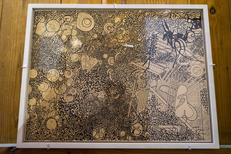 かめびし屋の川島猛のアート2