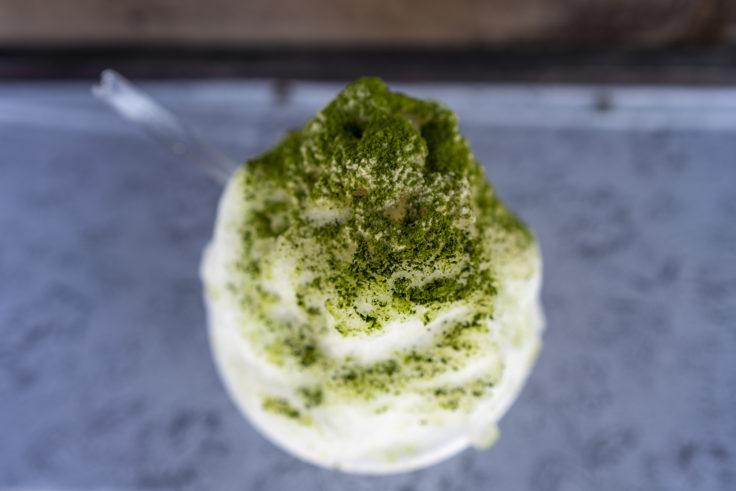 讃州井筒屋敷の和三盆かき氷