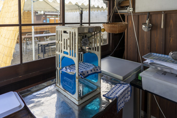 讃州井筒屋敷のかき氷機