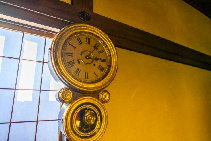 かめびし屋日本最古の時計