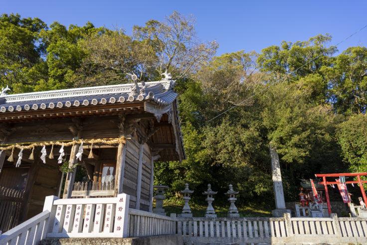 誉田八幡神社の社叢