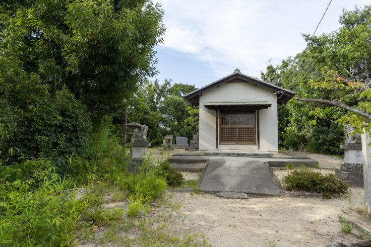 喜岡寺の神社2