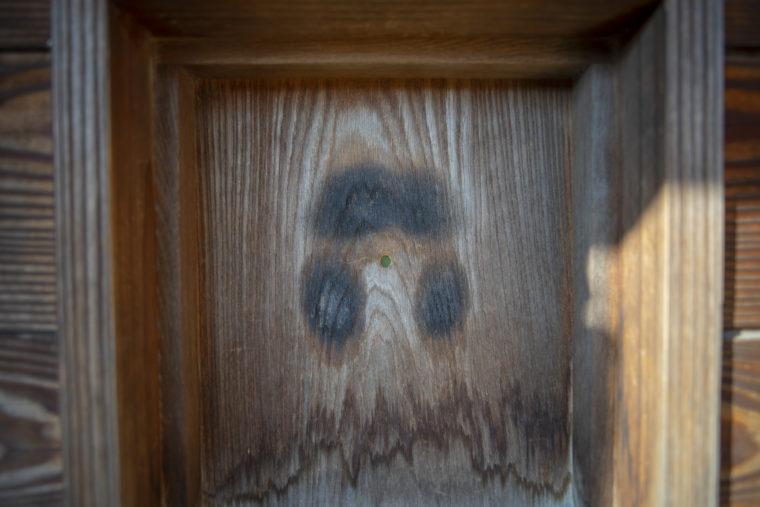 鴨場覗き窓