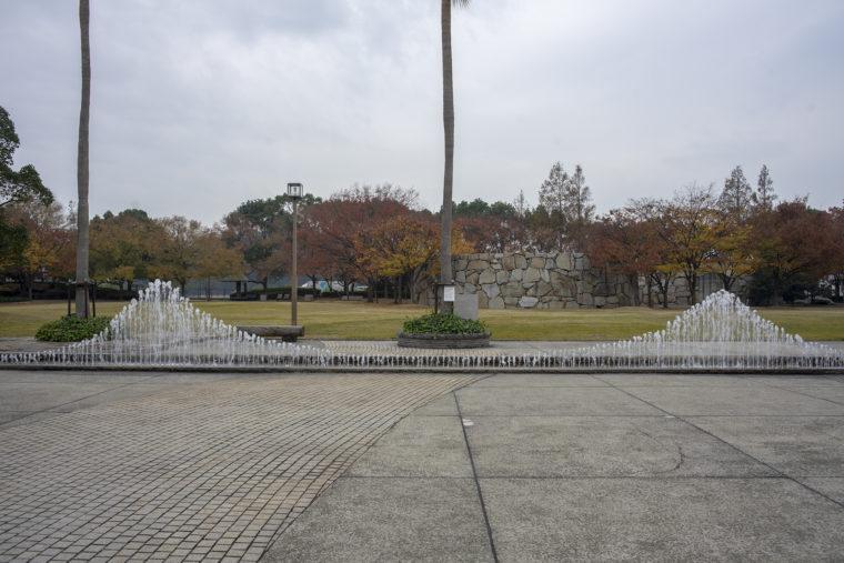 瀬戸大橋記念公園の噴水