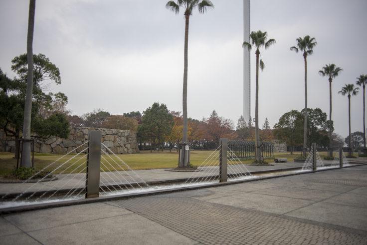 瀬戸大橋記念公園の噴水2