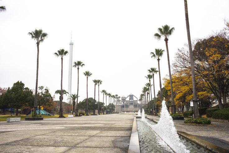 瀬戸大橋記念公園正面入り口から