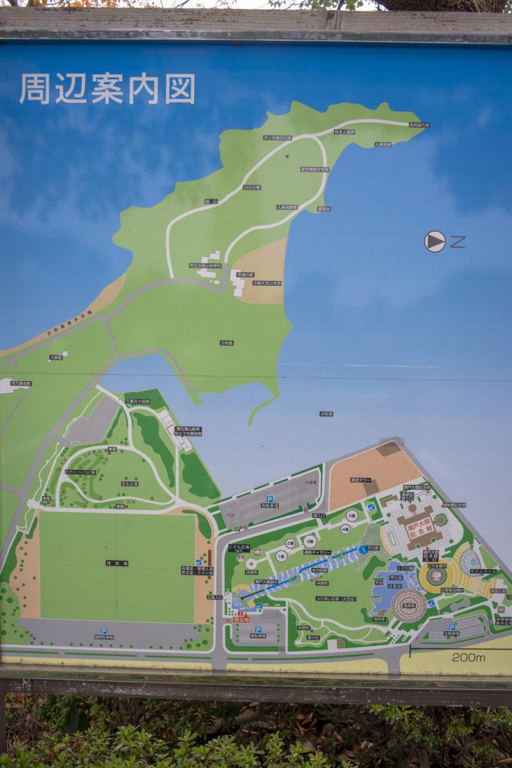 瀬戸大橋記念公園マップ