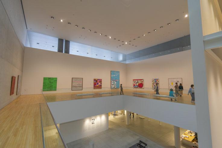 猪熊弦一郎現代美術館2階