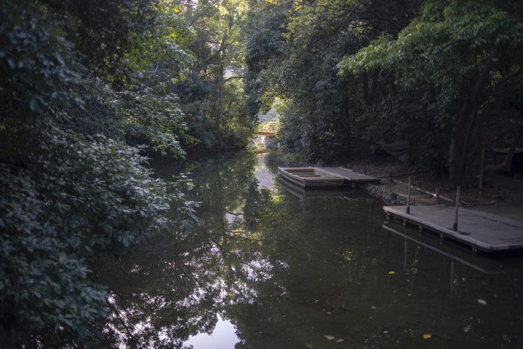 栗林公園の和船