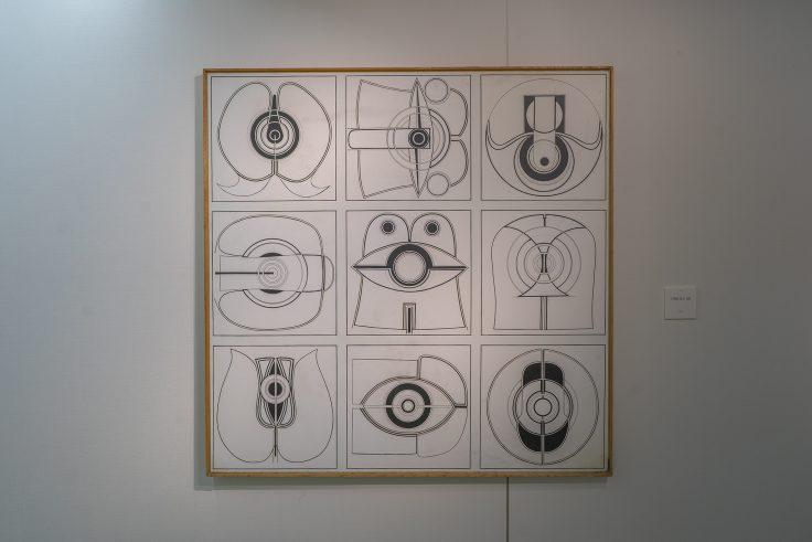 川島猛「1996 N.Y.68」1966