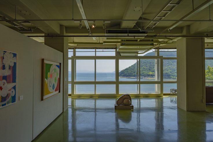 川島猛アートファクトリーから見える瀬戸内海2