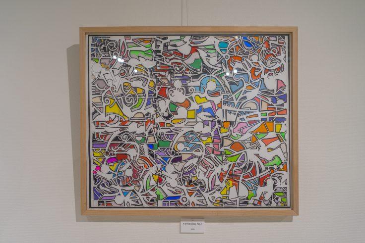 川島猛「Kaleidoscope-No.1」2006年