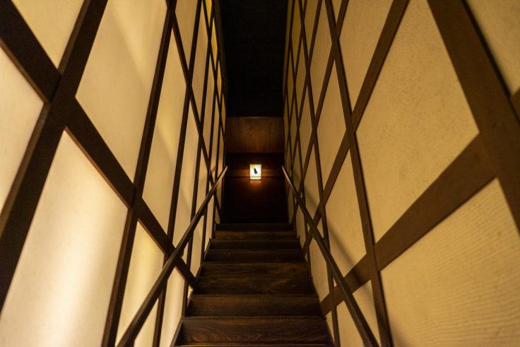 タビ式の階段