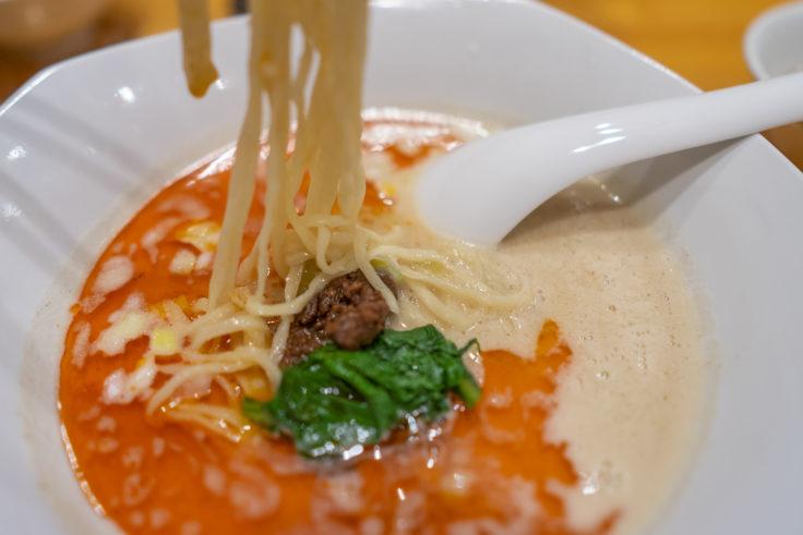 弘の担々麺リフトアップ