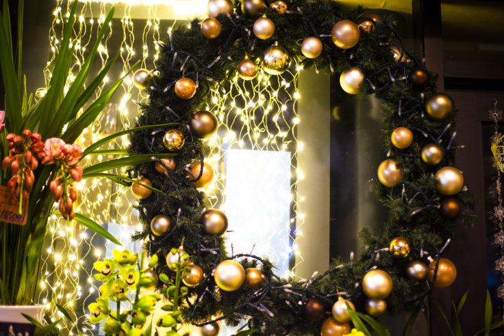 高松市のクリスマスリース
