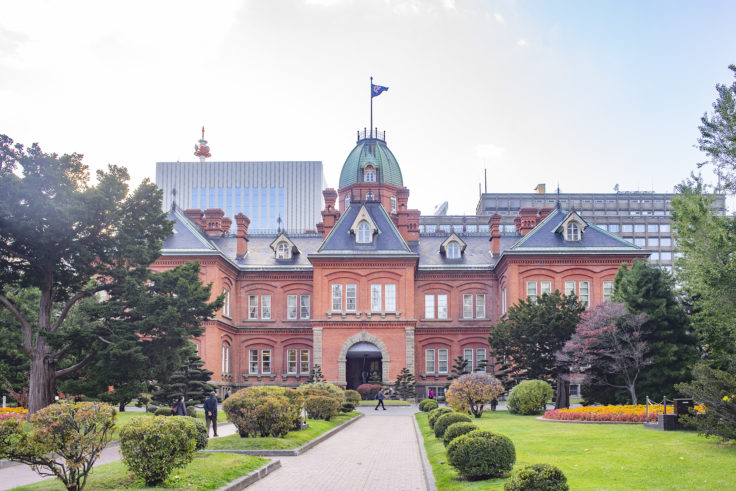 赤れんが庁舎 (北海道庁旧本庁舎)