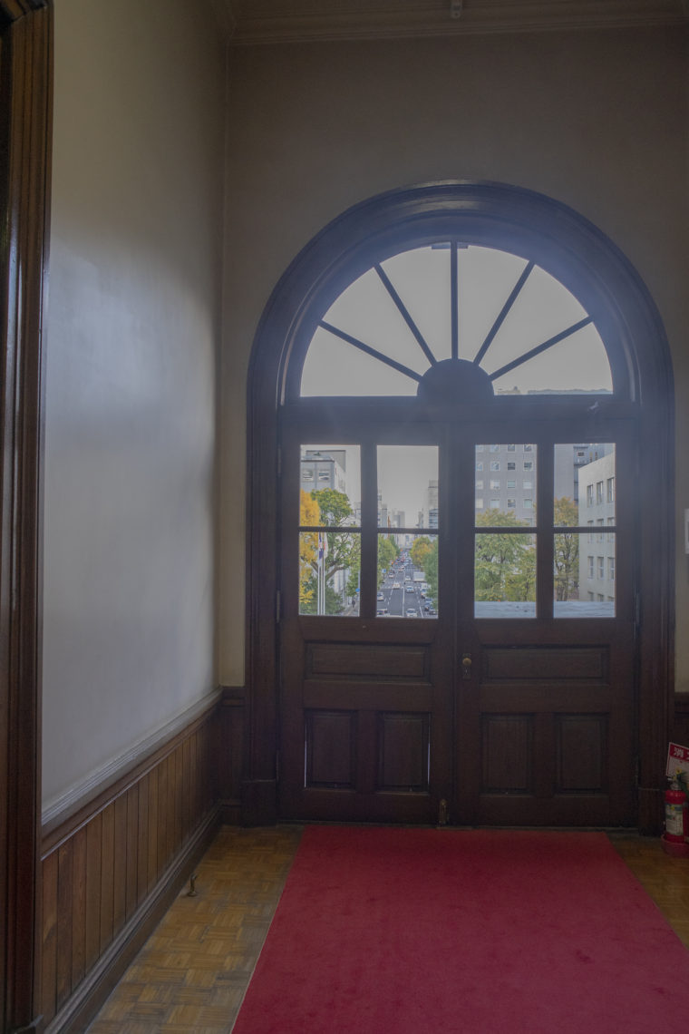 赤れんが庁舎 (北海道庁旧本庁舎)の窓