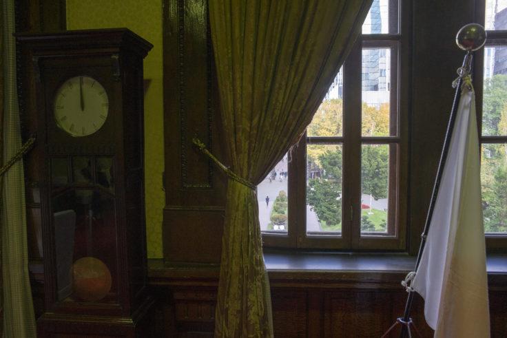 赤れんが庁舎 (北海道庁旧本庁舎)の窓とカーテン