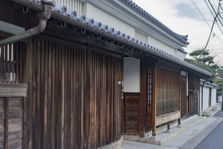 讃州井筒屋敷外観