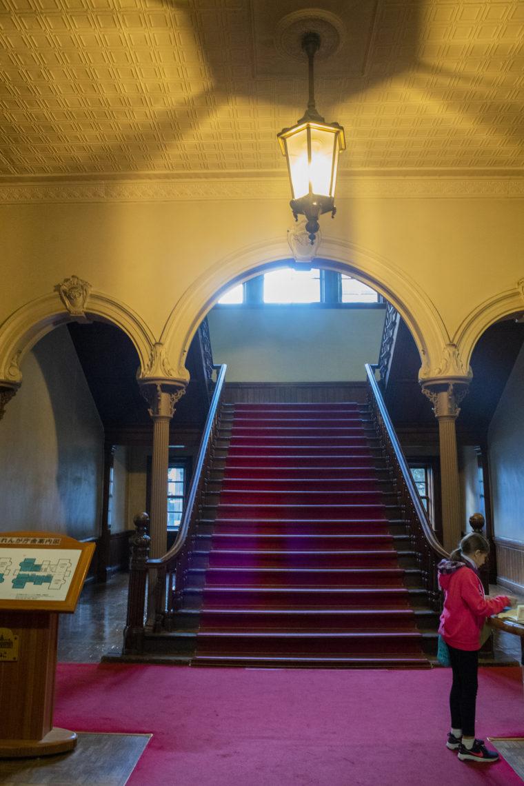 赤れんが庁舎 (北海道庁旧本庁舎)入り口階段