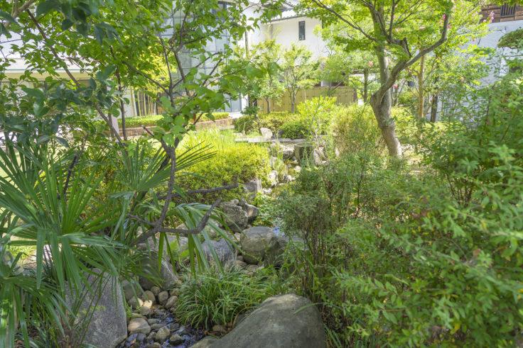 由佐城址庭園2