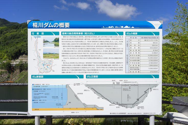椛川ダム説明