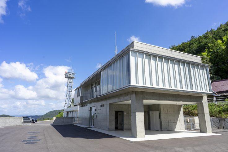 椛川ダム管理棟