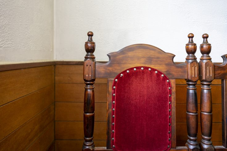 カフェウィーンの椅子