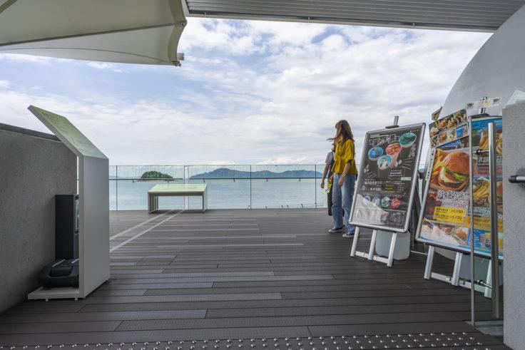 四国水族館から見た瀬戸内海