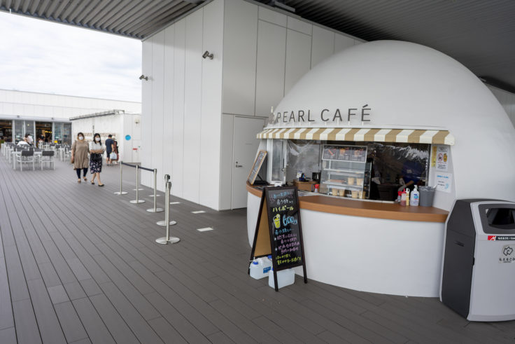 四国水族館pearlカフェ