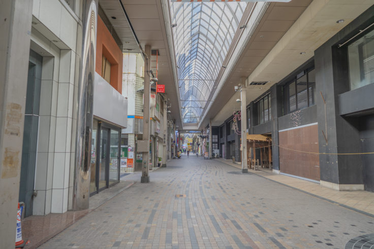 常磐街商店街アーケード2